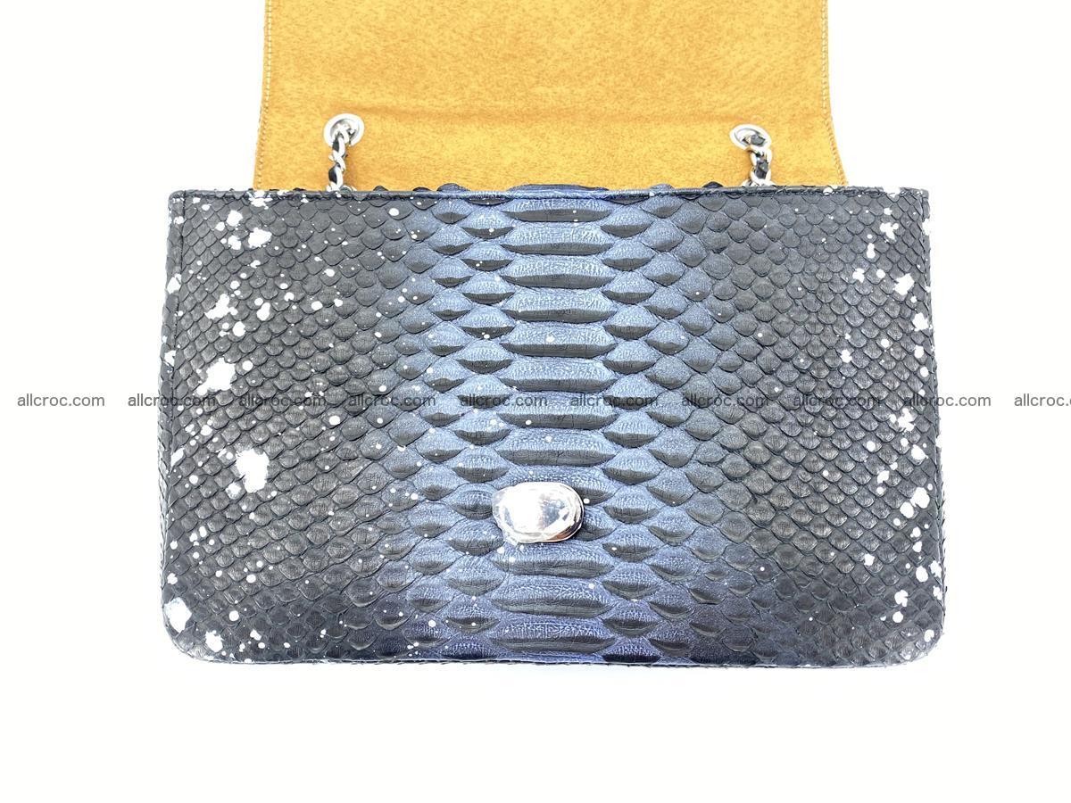 Python snakeskin shoulder bag 1076 Foto 12