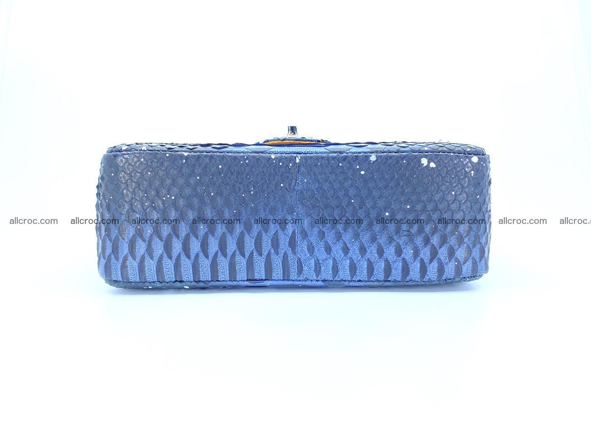 Python snakeskin shoulder bag 1076 Foto 11