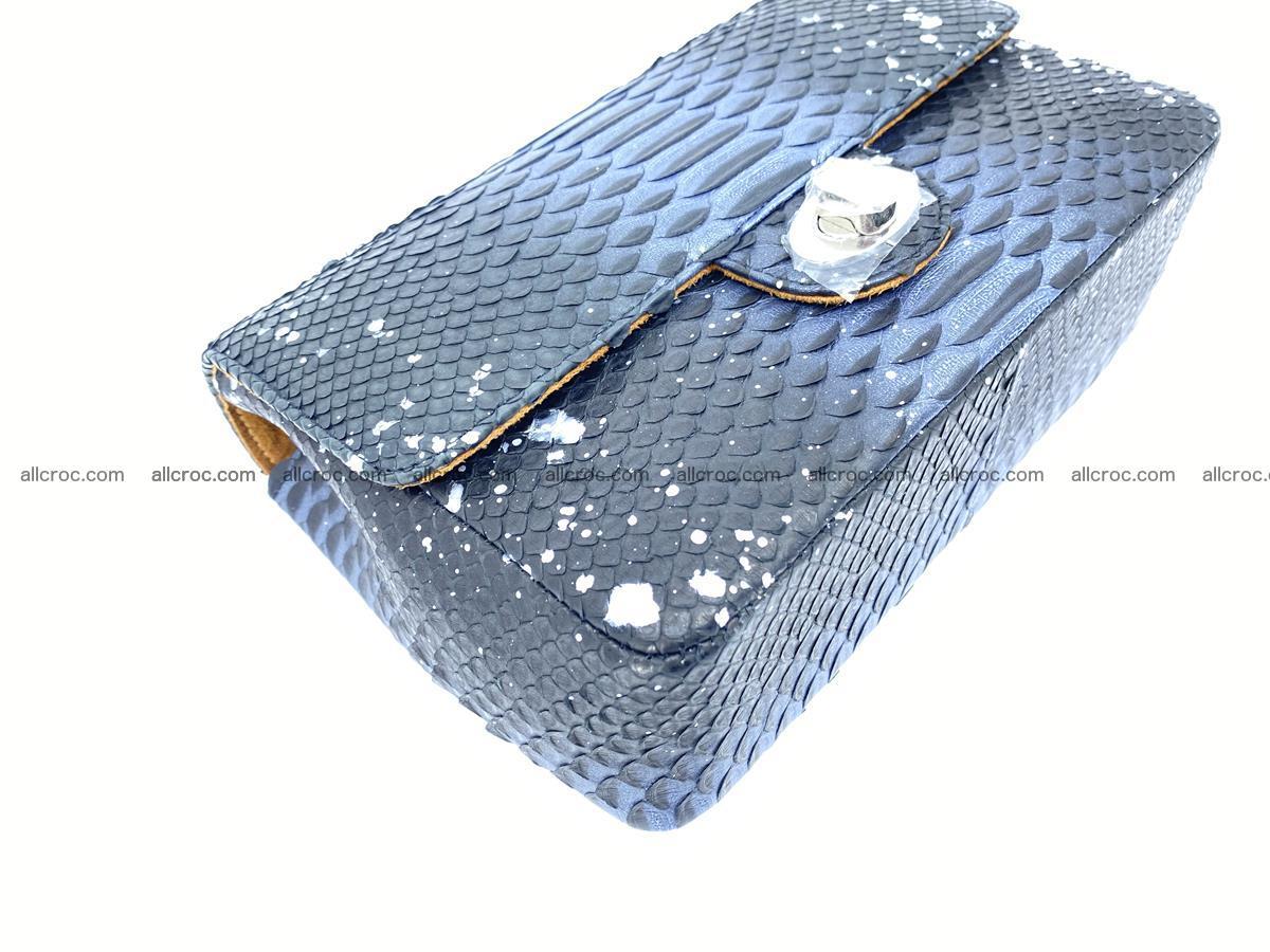 Python snakeskin shoulder bag 1076 Foto 6