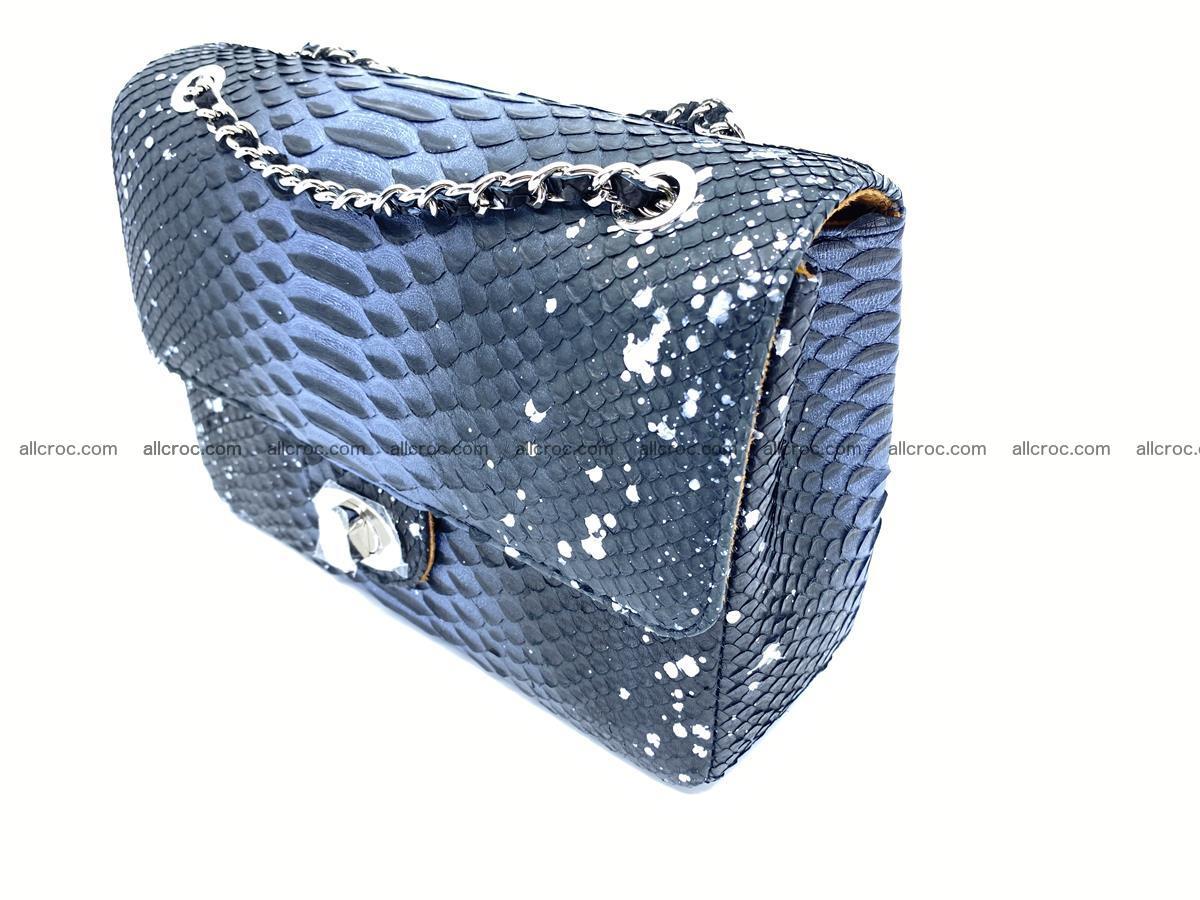 Python snakeskin shoulder bag 1076 Foto 2