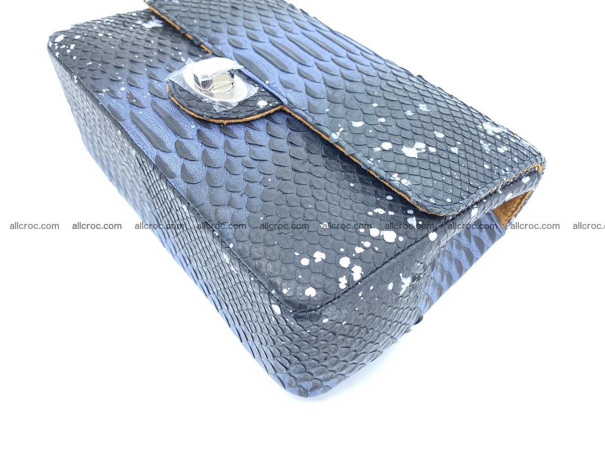 Python snakeskin shoulder bag 1076 Foto 7