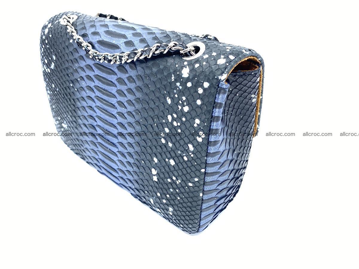 Python snakeskin shoulder bag 1076 Foto 4