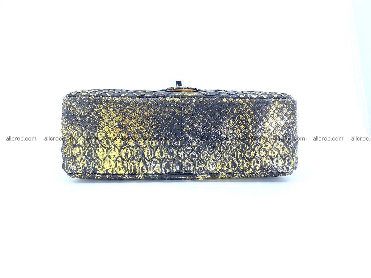 Python snakeskin shoulder bag 1075 Foto 12