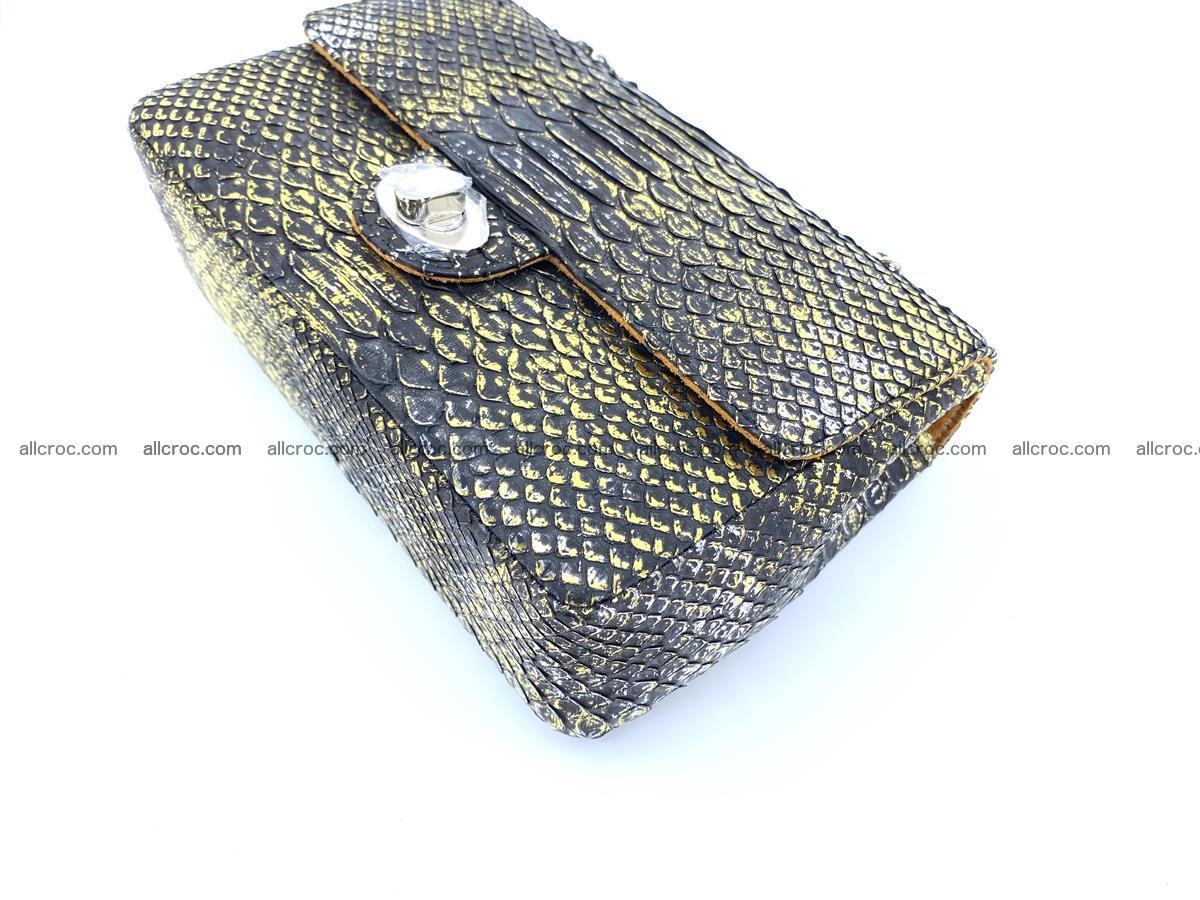 Python snakeskin shoulder bag 1075 Foto 7