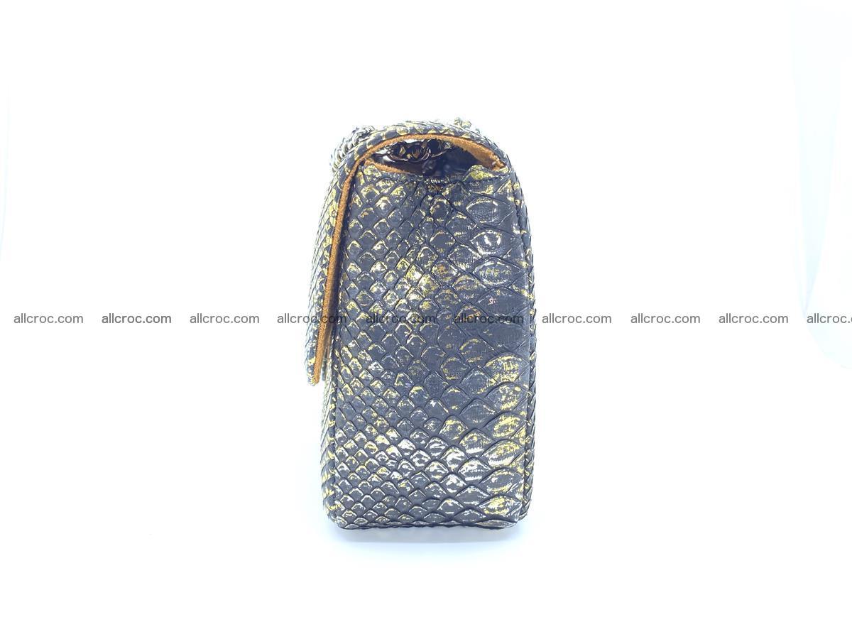 Python snakeskin shoulder bag 1075 Foto 10