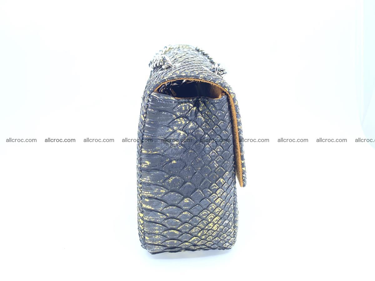 Python snakeskin shoulder bag 1075 Foto 9