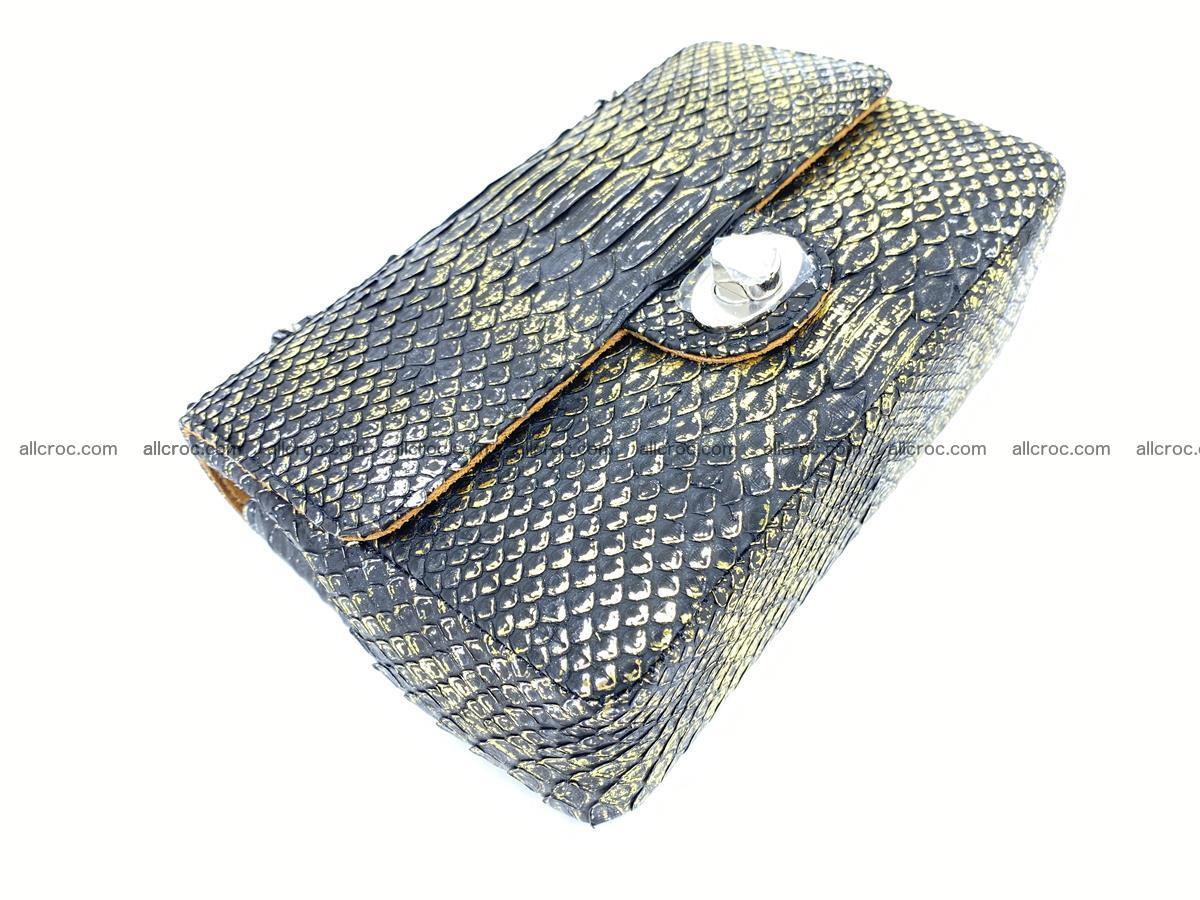 Python snakeskin shoulder bag 1075 Foto 6