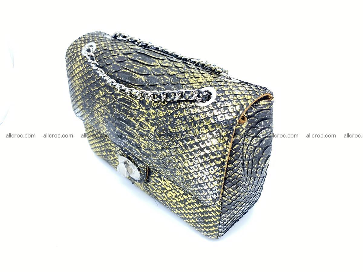 Python snakeskin shoulder bag 1075 Foto 2