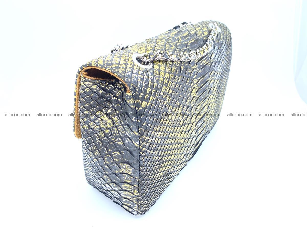 Python snakeskin shoulder bag 1075 Foto 4