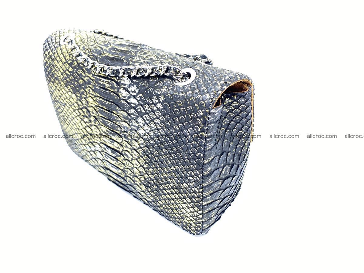 Python snakeskin shoulder bag 1075 Foto 5