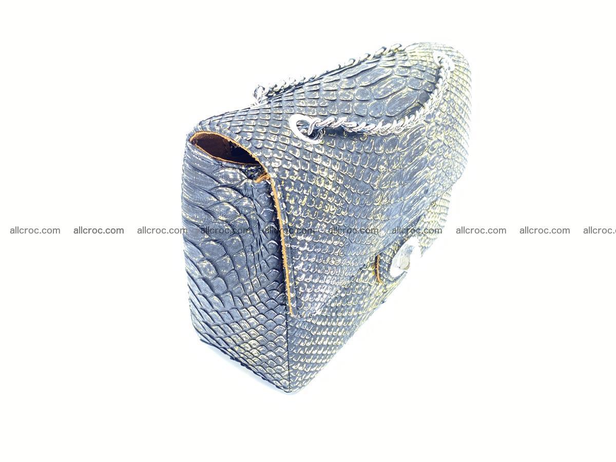 Python snakeskin shoulder bag 1075 Foto 3