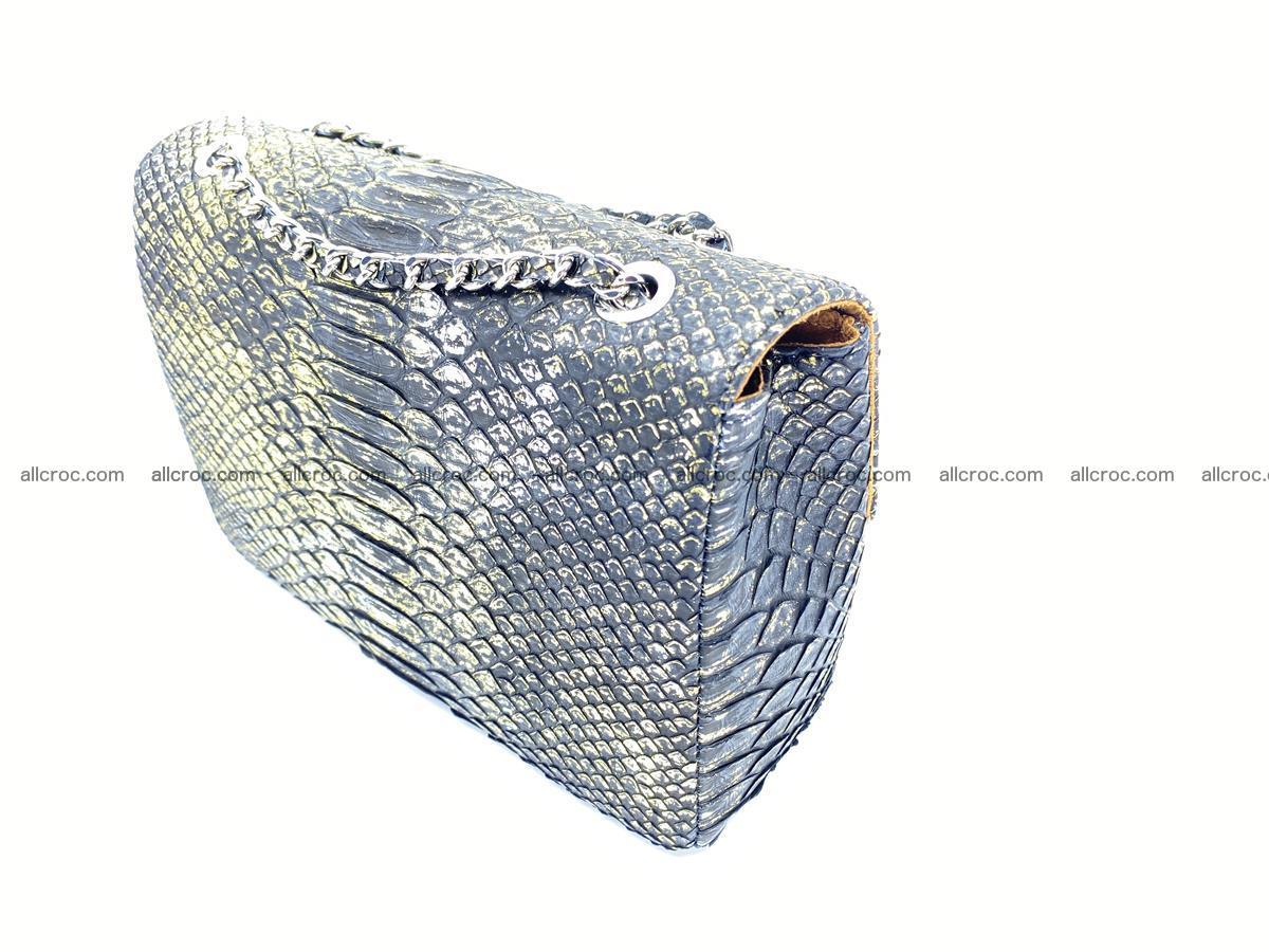 Python snakeskin shoulder bag 1075 Foto 11