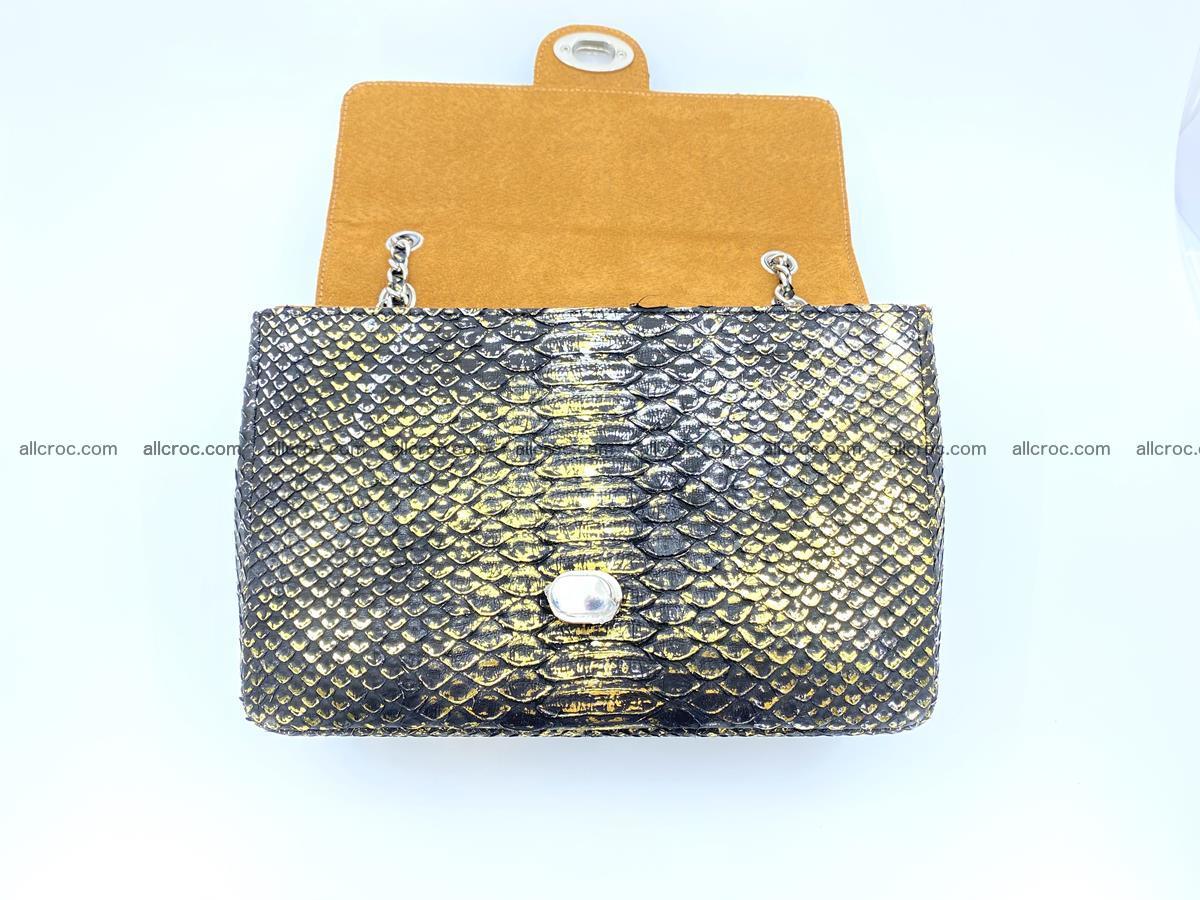Python snakeskin shoulder bag 1075 Foto 13