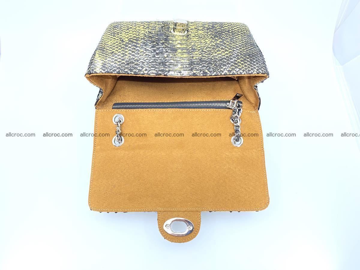 Python snakeskin shoulder bag 1075 Foto 14