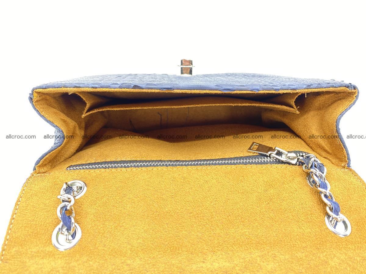 Python snakeskin shoulder bag 1079 Foto 13