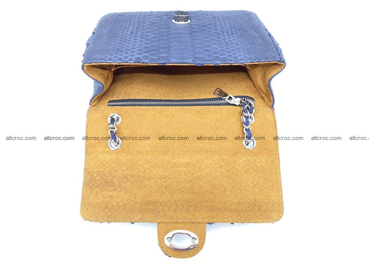 Python snakeskin shoulder bag 1079 Foto 14