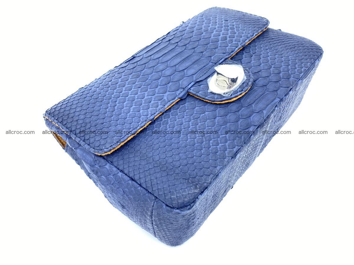 Python snakeskin shoulder bag 1079 Foto 6