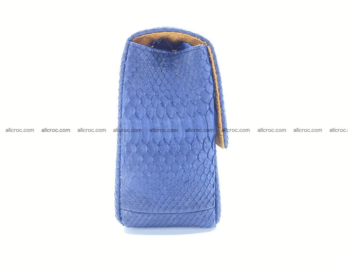 Python snakeskin shoulder bag 1079 Foto 9