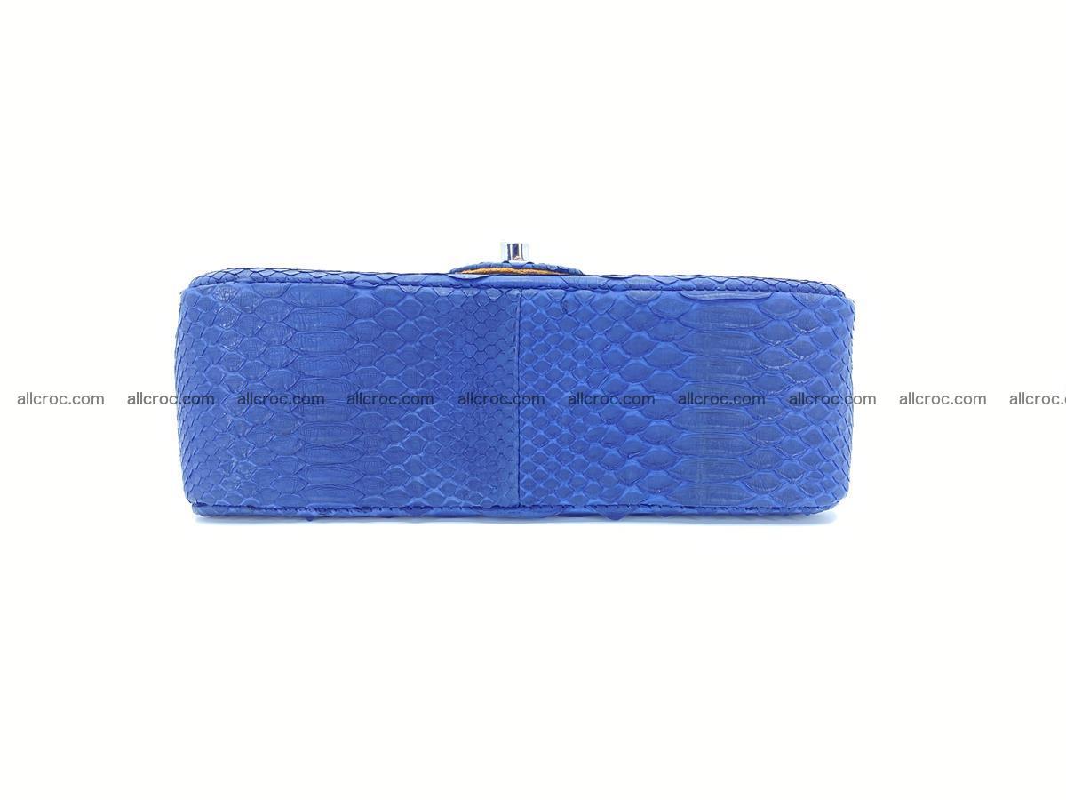Python snakeskin shoulder bag 1079 Foto 11