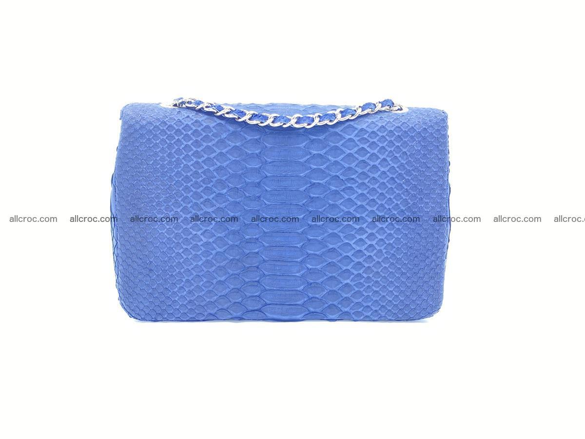 Python snakeskin shoulder bag 1079 Foto 1