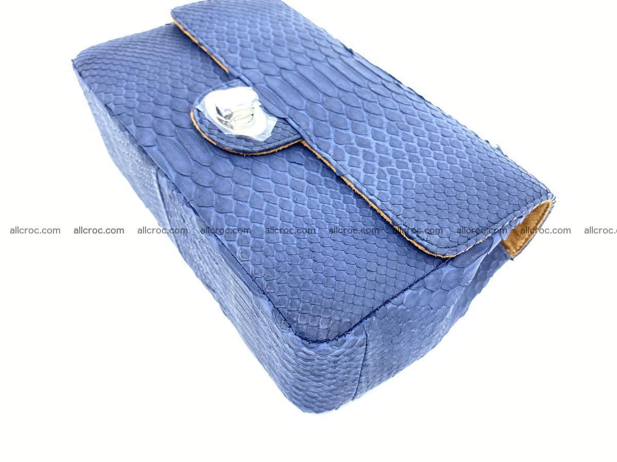 Python snakeskin shoulder bag 1079 Foto 7