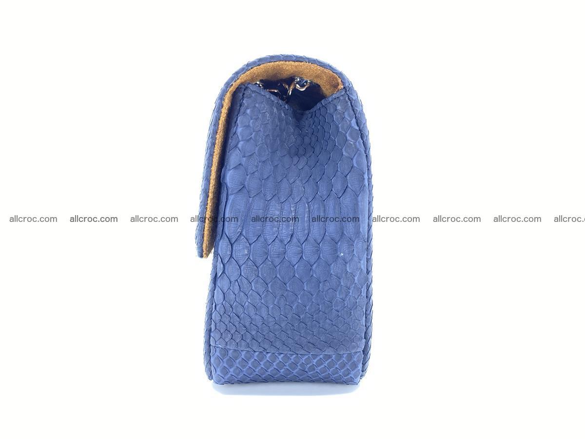 Python snakeskin shoulder bag 1079 Foto 10