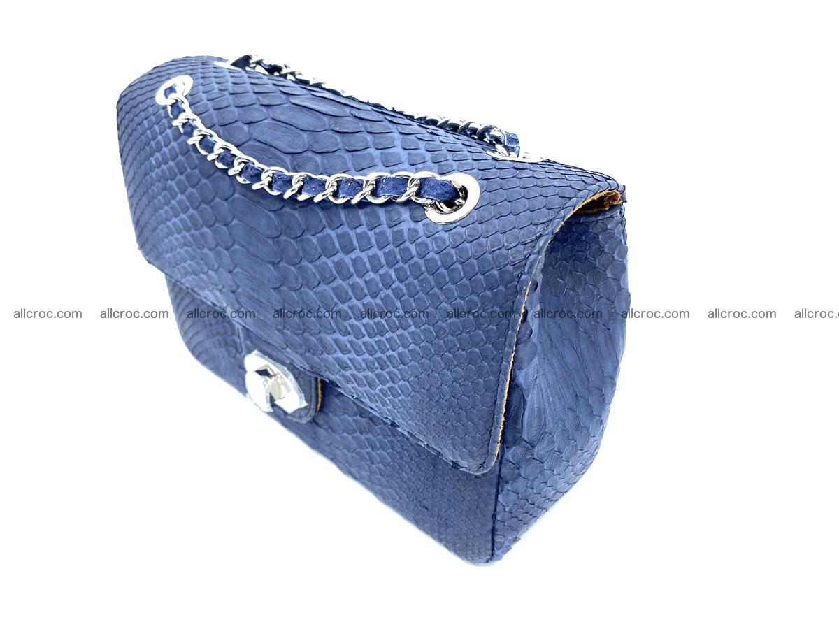 Python snakeskin shoulder bag 1079 Foto 2