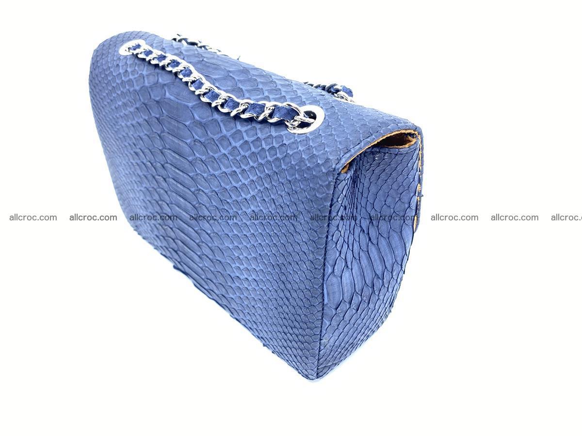 Python snakeskin shoulder bag 1079 Foto 4
