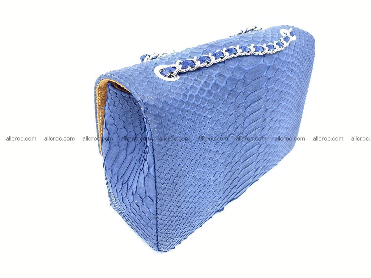 Python snakeskin shoulder bag 1079 Foto 5