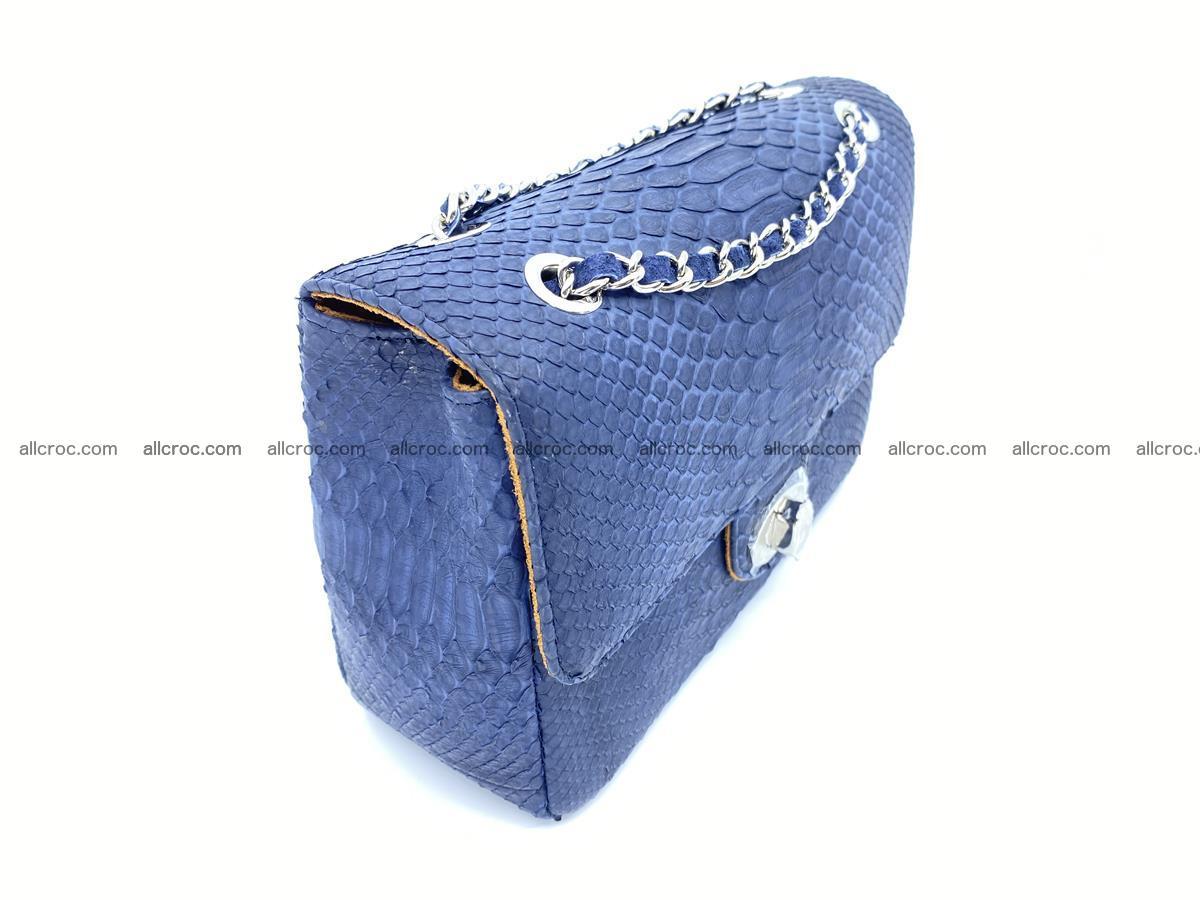 Python snakeskin shoulder bag 1079 Foto 3