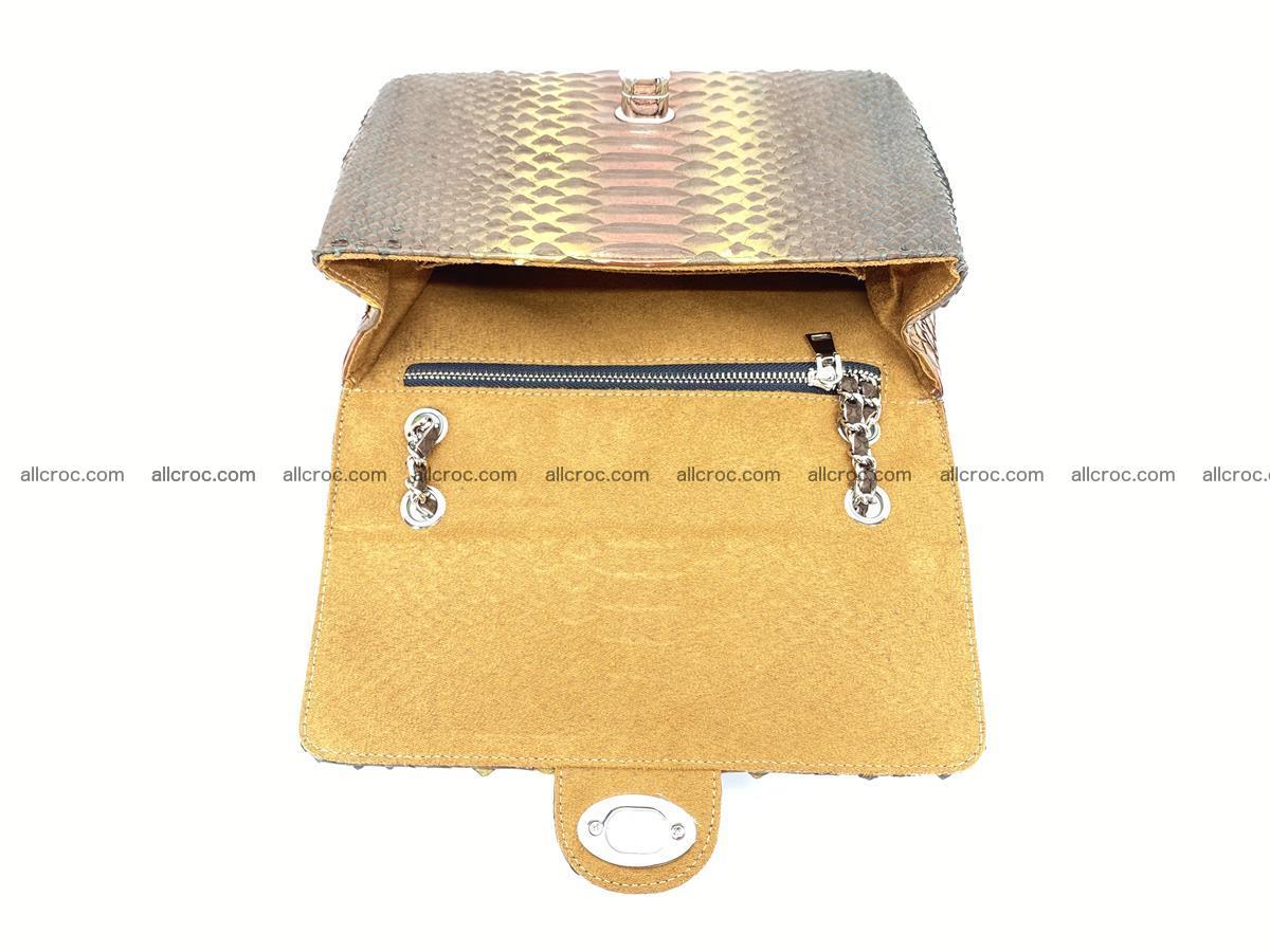 Python snakeskin shoulder bag 1078 Foto 15
