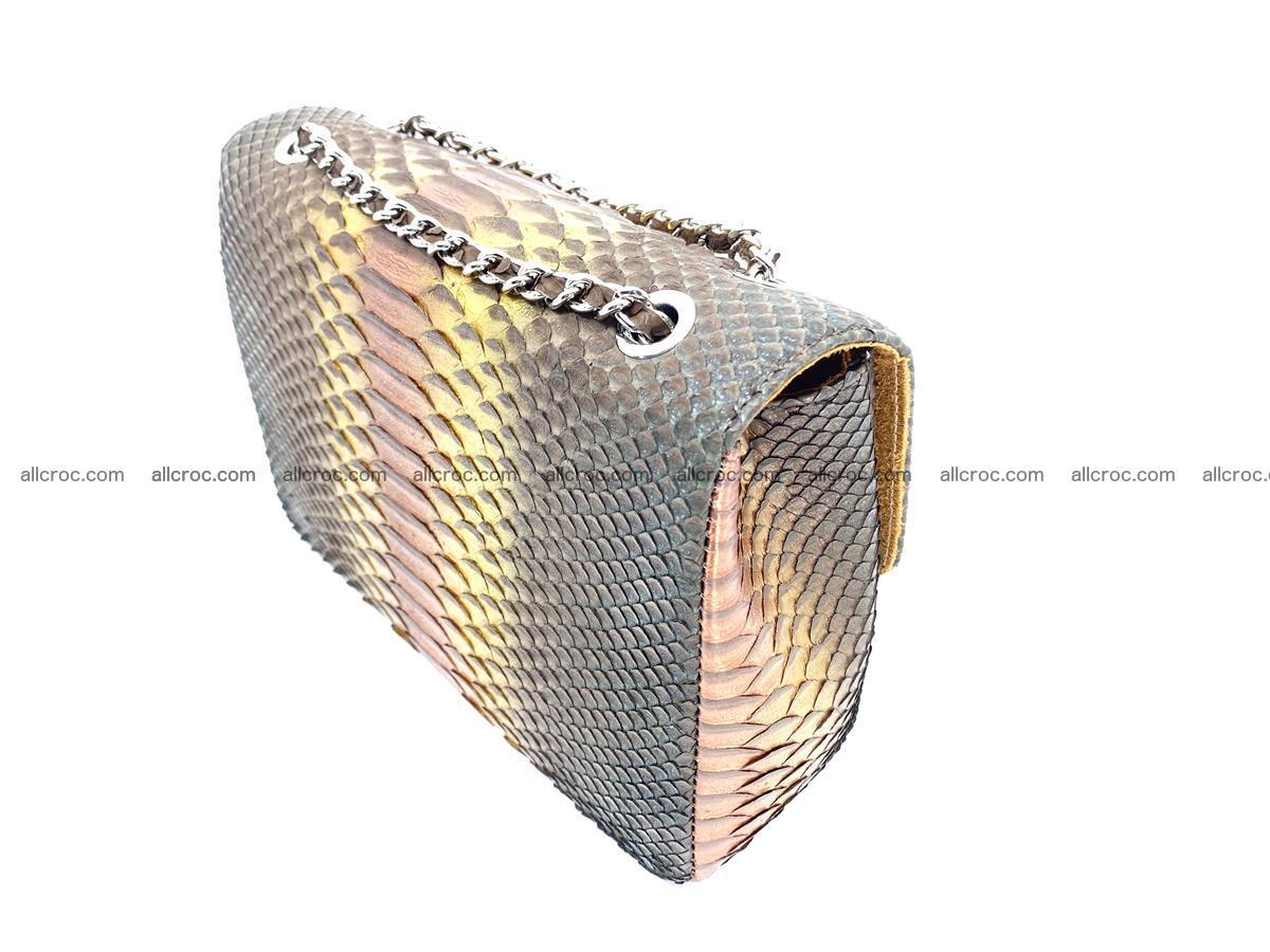 Python snakeskin shoulder bag 1078 Foto 5