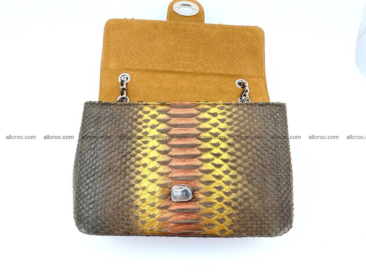 Python snakeskin shoulder bag 1078 Foto 12