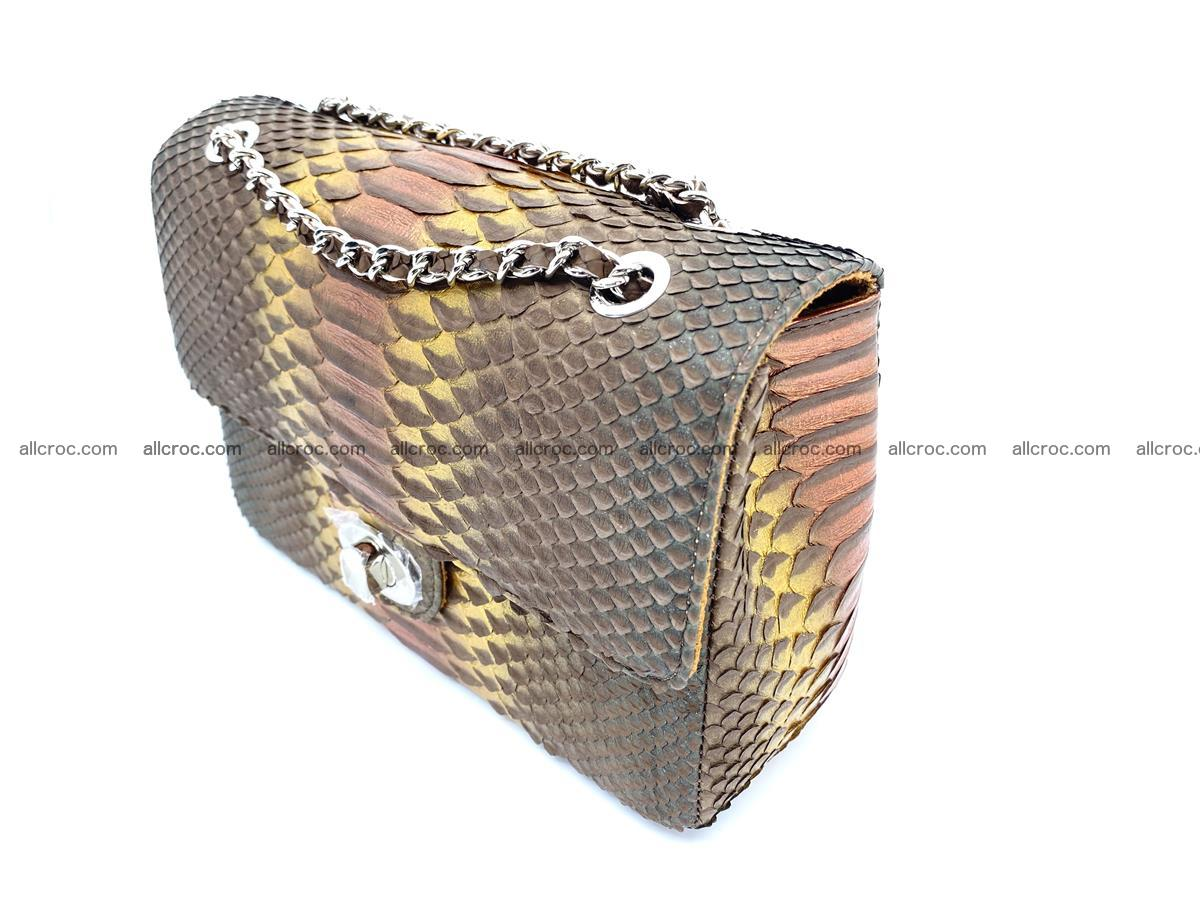 Python snakeskin shoulder bag 1078 Foto 3