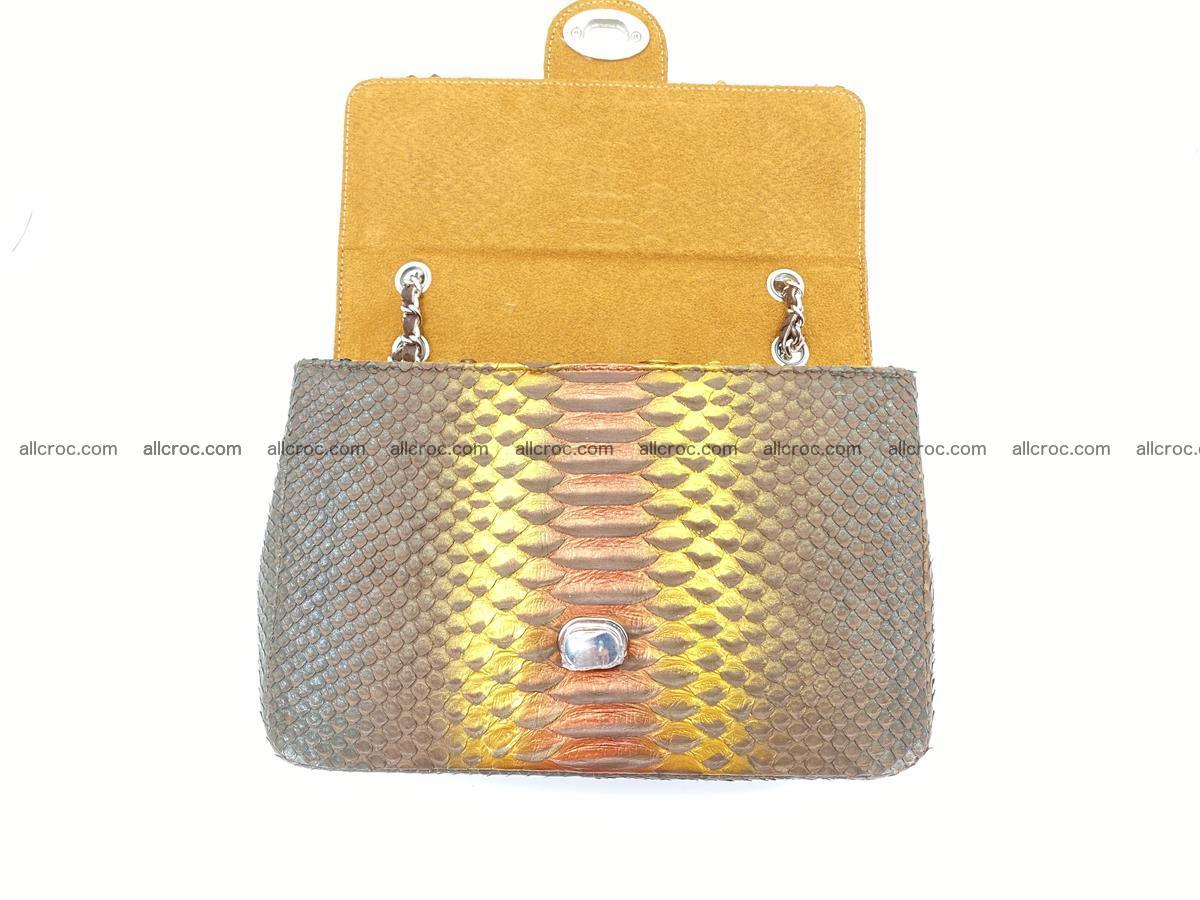 Python snakeskin shoulder bag 1078 Foto 13