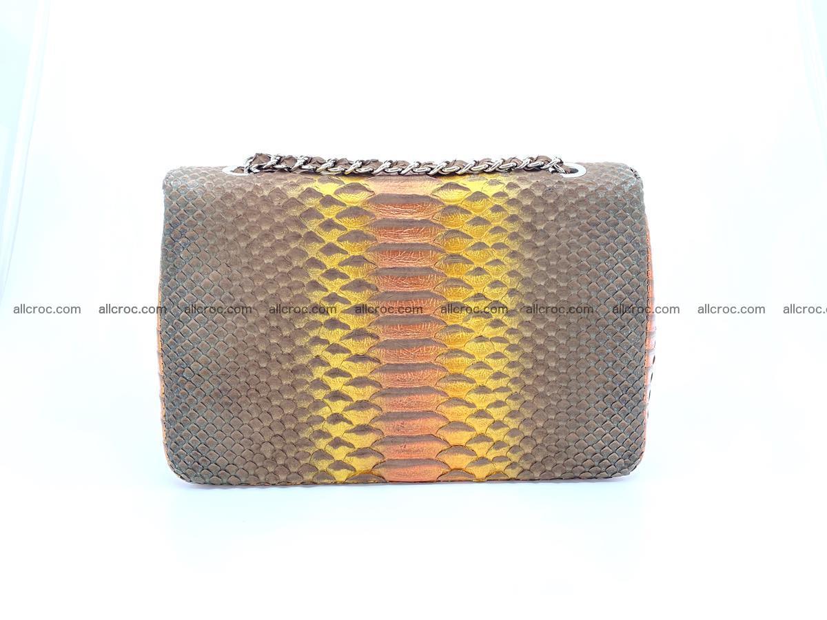 Python snakeskin shoulder bag 1078 Foto 1