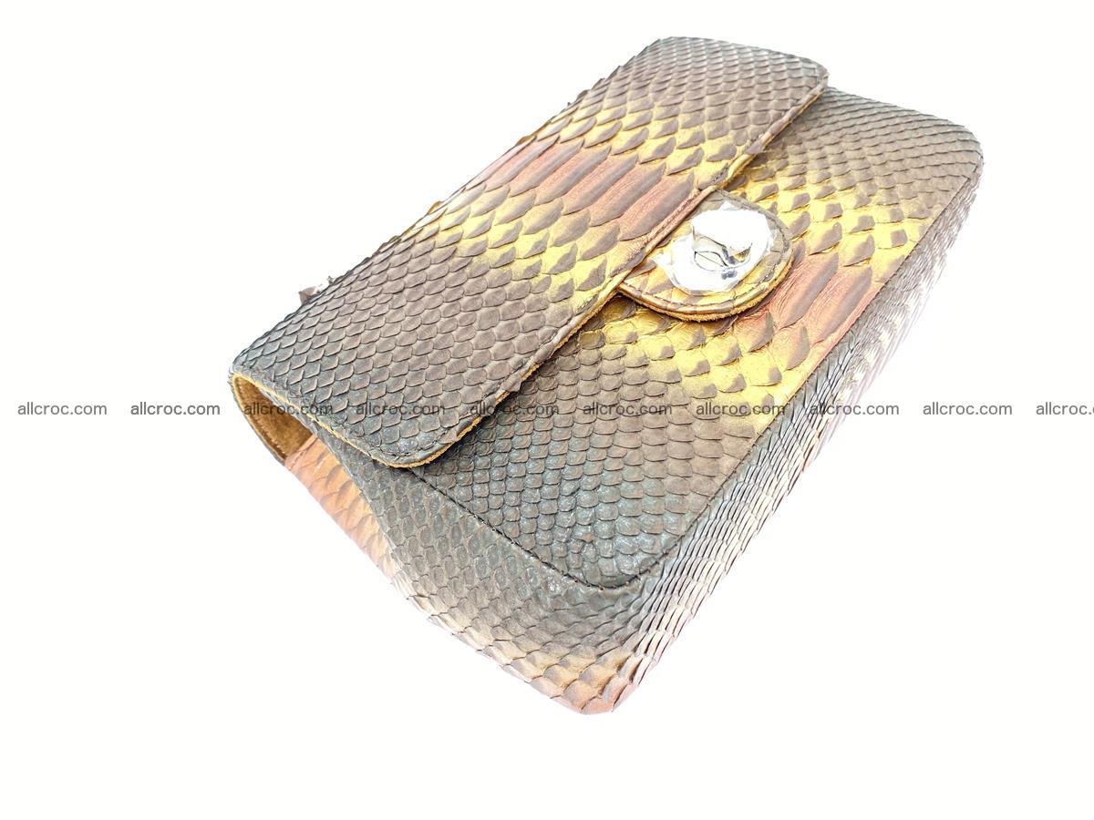 Python snakeskin shoulder bag 1078 Foto 7
