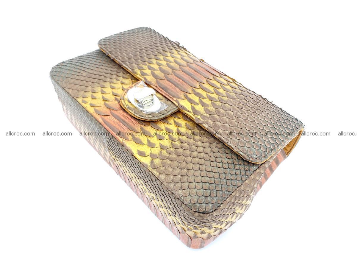 Python snakeskin shoulder bag 1078 Foto 8