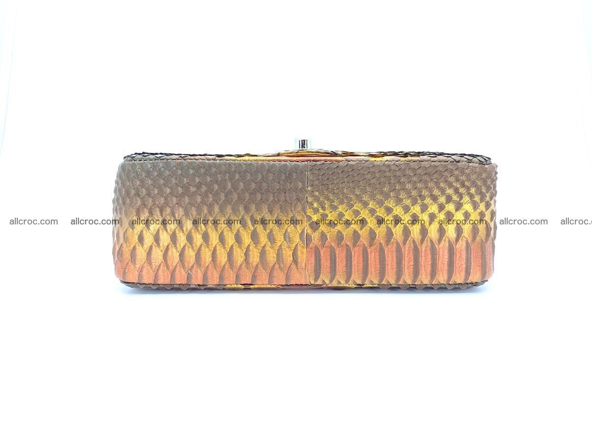 Python snakeskin shoulder bag 1078 Foto 9