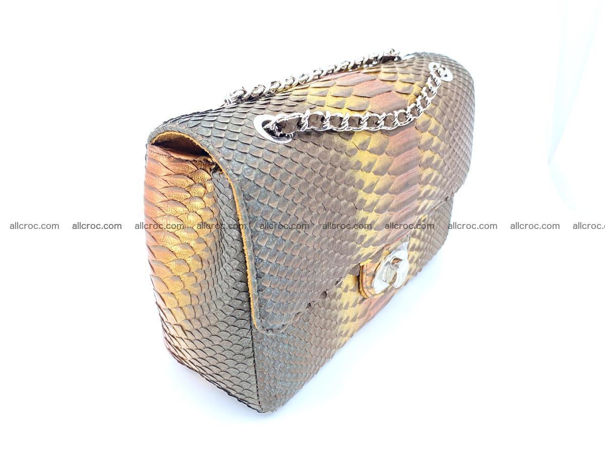 Python snakeskin shoulder bag 1078 Foto 2