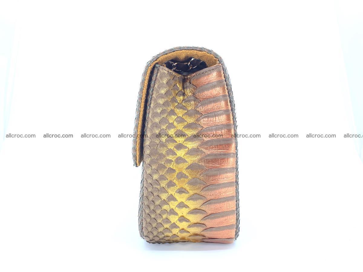 Python snakeskin shoulder bag 1078 Foto 10
