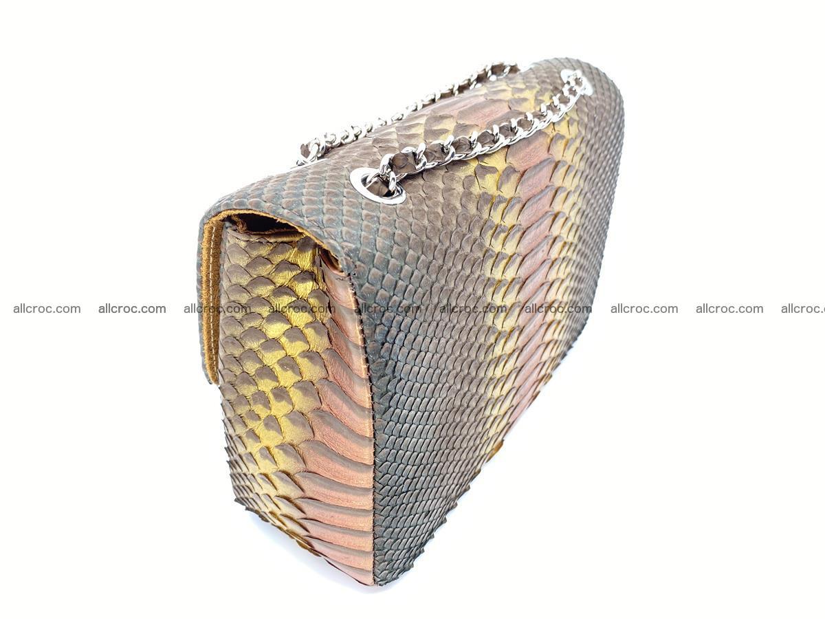 Python snakeskin shoulder bag 1078 Foto 4