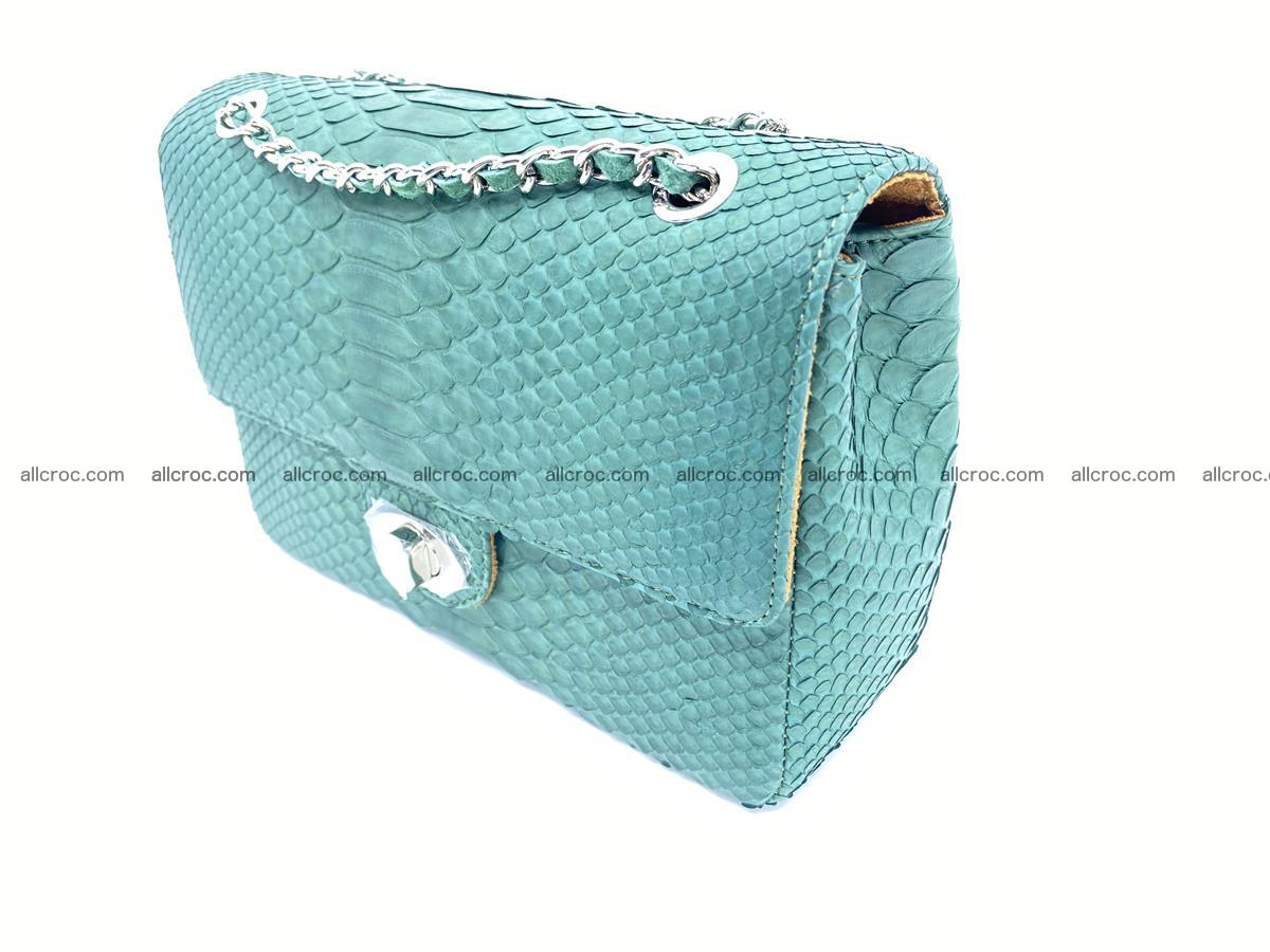 Python snakeskin shoulder bag 1082 Foto 2