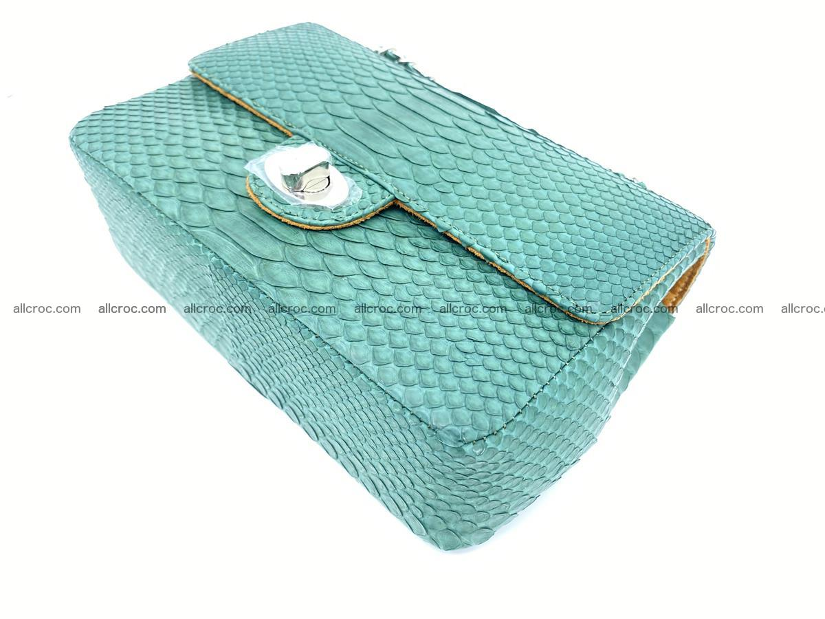 Python snakeskin shoulder bag 1082 Foto 6