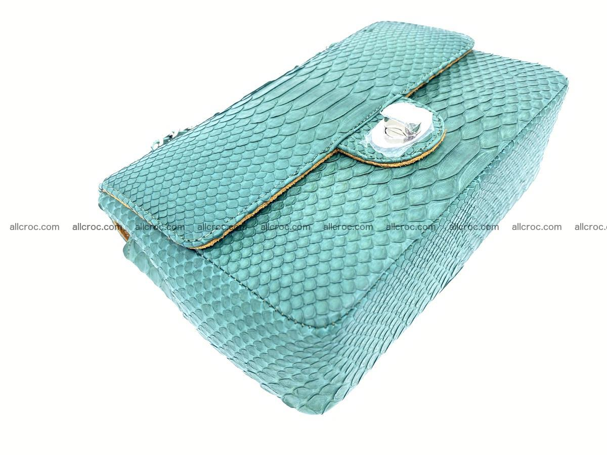 Python snakeskin shoulder bag 1082 Foto 7