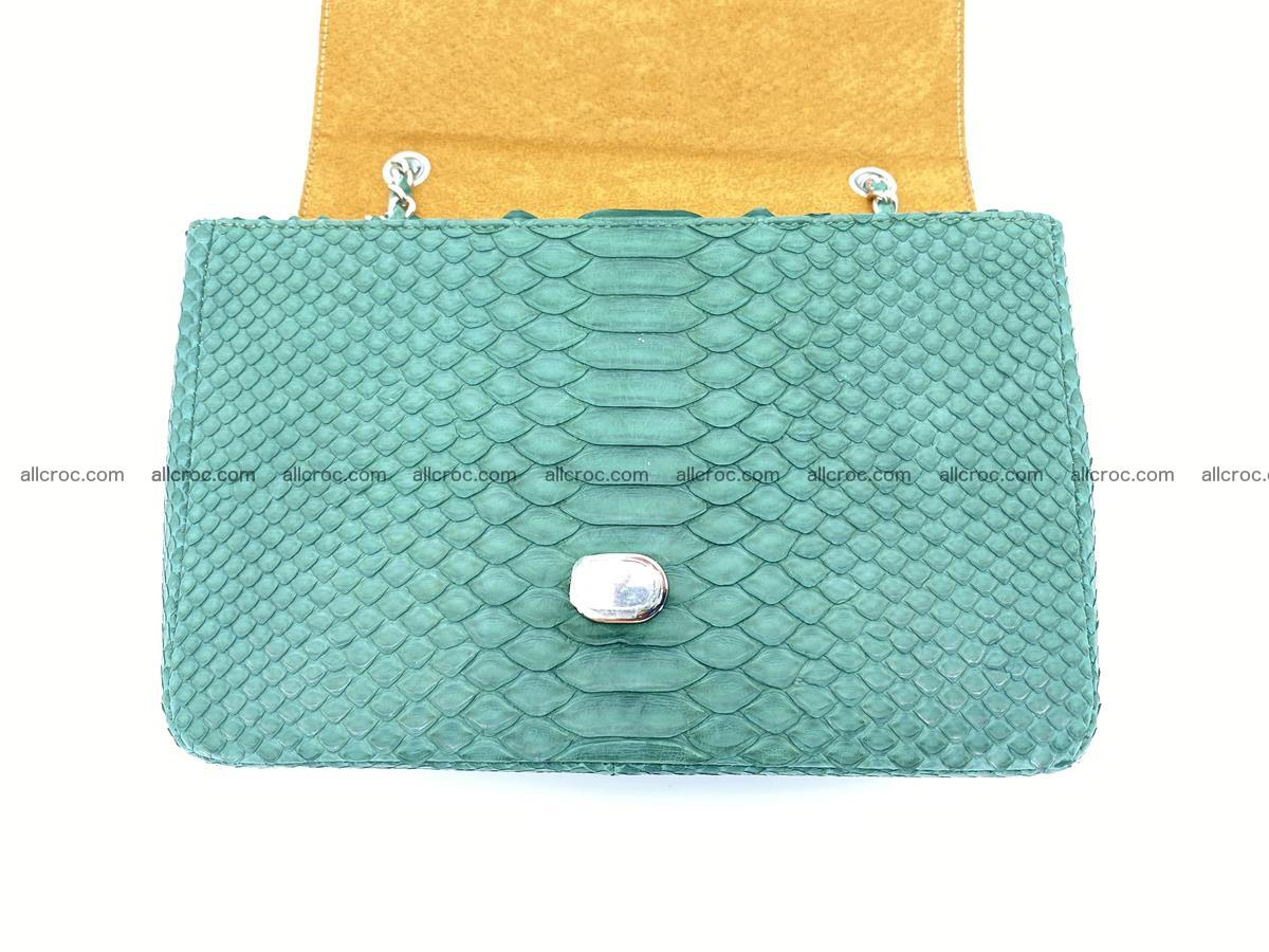 Python snakeskin shoulder bag 1082 Foto 12
