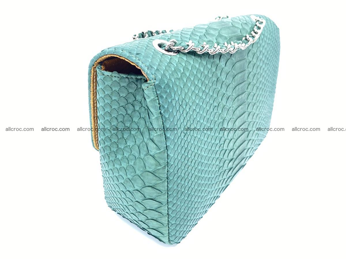 Python snakeskin shoulder bag 1082 Foto 5