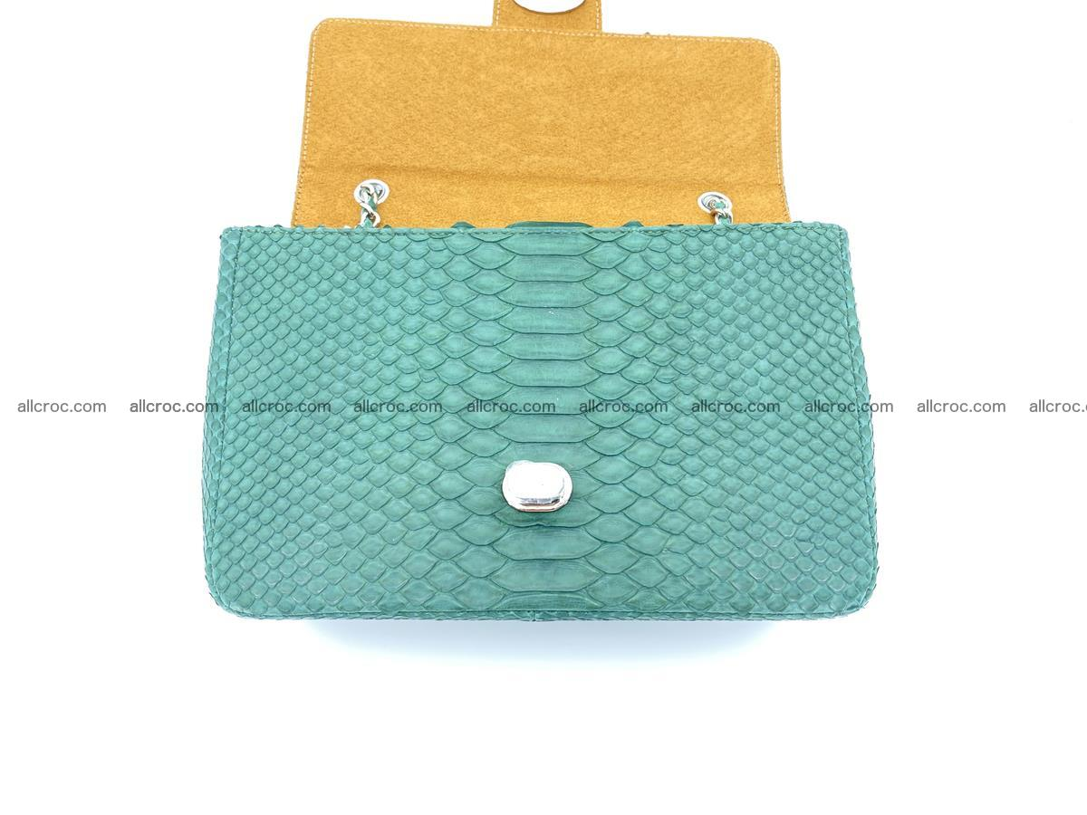 Python snakeskin shoulder bag 1082 Foto 13