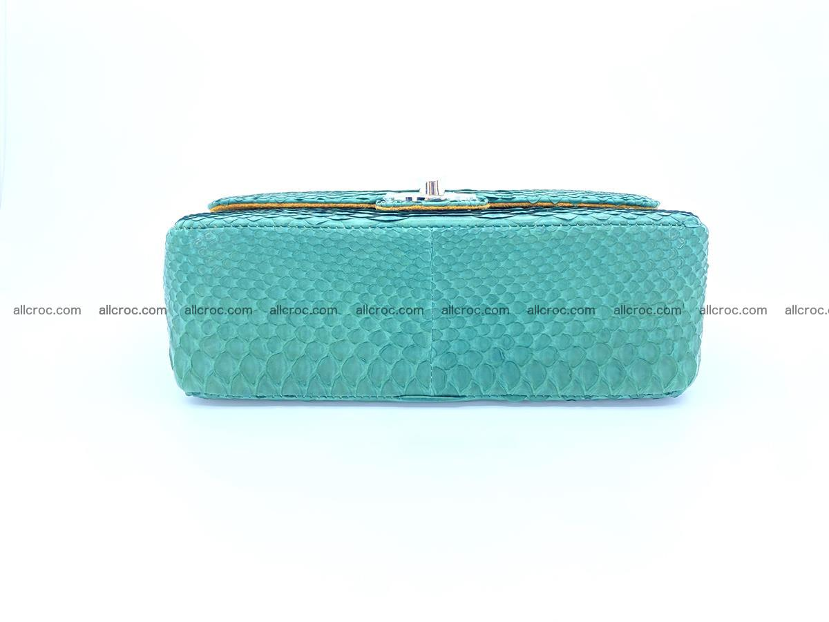 Python snakeskin shoulder bag 1082 Foto 11