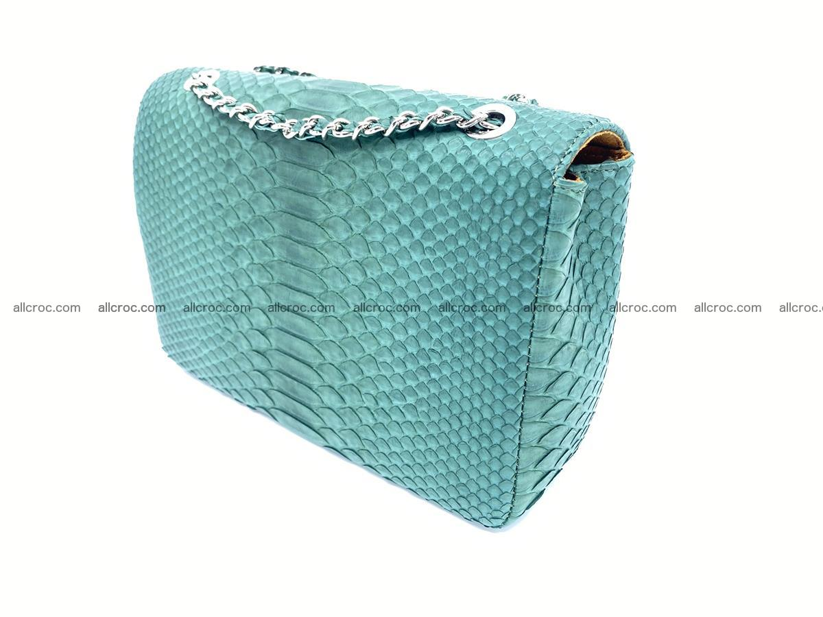 Python snakeskin shoulder bag 1082 Foto 4